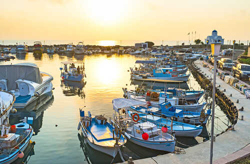 Cyprus harbour holidays