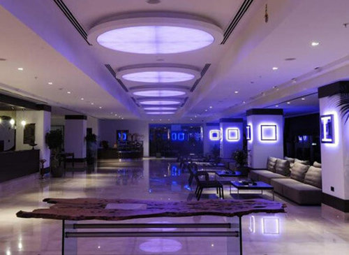 Lobby Area at the Malpas Hotel and Casino