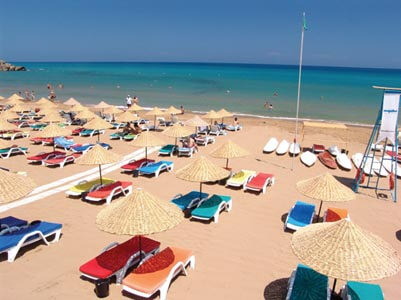 North Cyprus beach holidays
