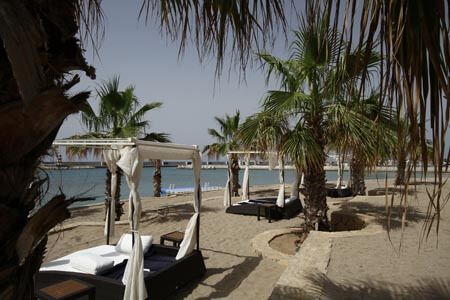 private Beach at Karpaz gate marina