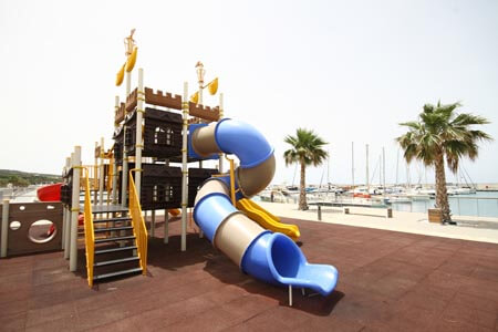 Karpaz Marina childrens area