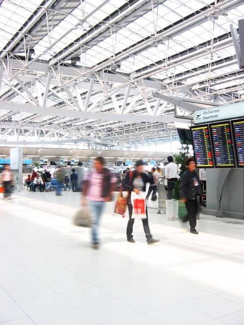 Airports such as Gatwick, Heathrow, London airports