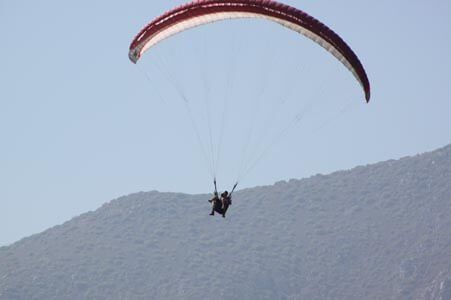 Activity holidays - paragliding