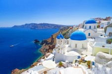 Stunning views of Santorini