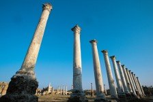 Salamis Ruins in Famagusta